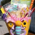 Plush Spring Basket