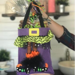 Witch's Feet Halloween Bag