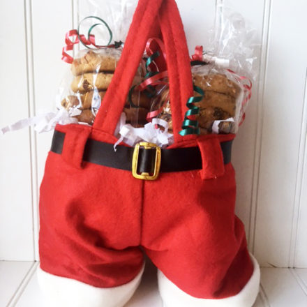 Santa Cookie Pants