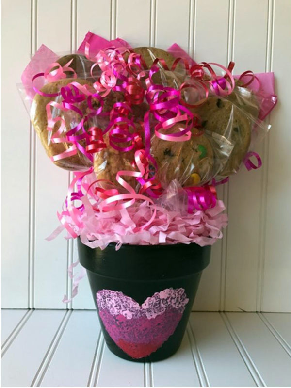Heart Full of Love Cookie Bouquet