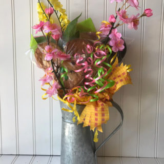 Galvanized Pitcher Bouquet