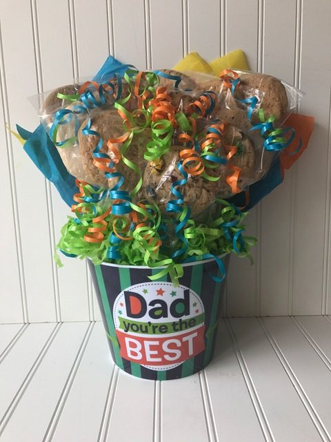 Best Dad Cookie Bouquet