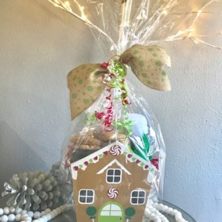 Ginger Bread House Cookie Gift